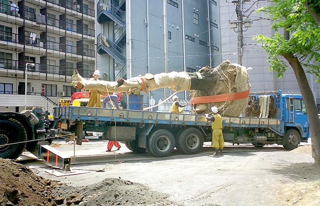 大木の移植
